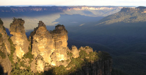 Three Sisters, at the Blue Mountains